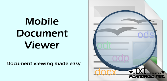 Mobile Document Viewer Android
