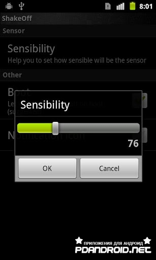 Shake - Screen Off Android